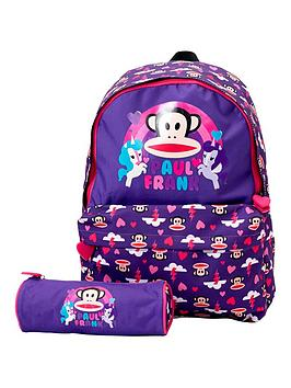 paul-frank-ride-the-rainbow-backpack-and-pencil-case-set