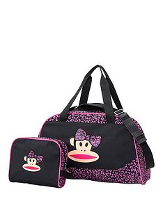 paul-frank-3d-bow-holdall-and-wash-bag-set
