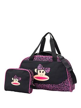 Paul Frank 3D Bow Holdall And Wash Bag Set