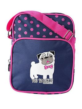 David & Goliath You So Pugly Crossbody Bag