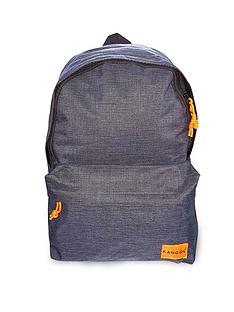kangol-navy-marl-backpack