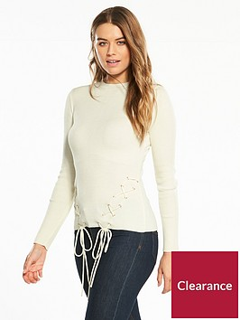 v-by-very-eyelet-lace-up-hem-skinny-rib-jumper