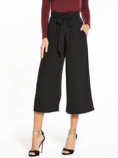 miss-selfridge-belted-crop-wide-leg-trouser-black