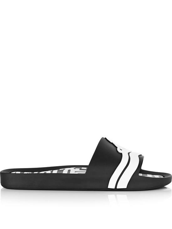 e770a7e1234e4e Melissa Vivienne Westwood For Melissa Beach Slide 19 - Black