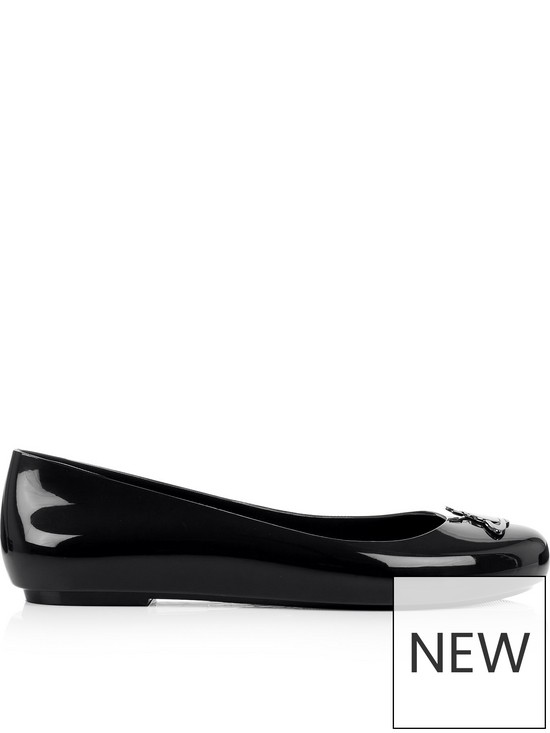 9e95518ac0f Melissa Vivienne Westwood For Melissa Space Love 19 Orb Ballet Pumps - Black