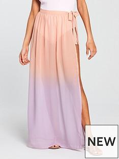 south-beach-ombreacutenbspwrap-beach-skirt-pinkpurple