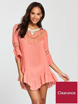 south-beach-low-back-crochet-tassel-beach-dress-peach