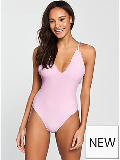 south-beach-fantasy-ribbed-fabric-frill-edge-detail-swimsuit-lilac