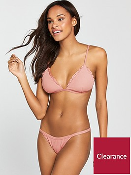 south-beach-fantasy-ribbed-frill-edge-triangle-bikini-top-coral