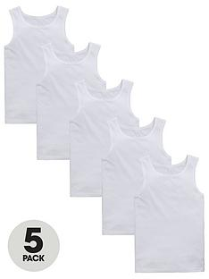 v-by-very-boys-5-pack-sleeveless-vest-tops-white