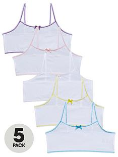 v-by-very-girls-5-pack-plain-crop-tops-white