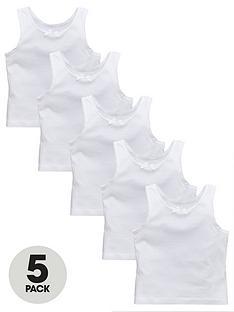 v-by-very-girls-5-pack-sleeveless-vests-white