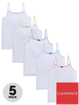 v-by-very-girls-5-packnbspcami-vests-white
