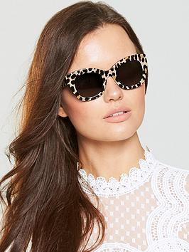 Kate Spade New York Jalena Sunglasses - Animal Print