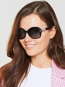 Jimmy Choo Alana Sunglasses - Black
