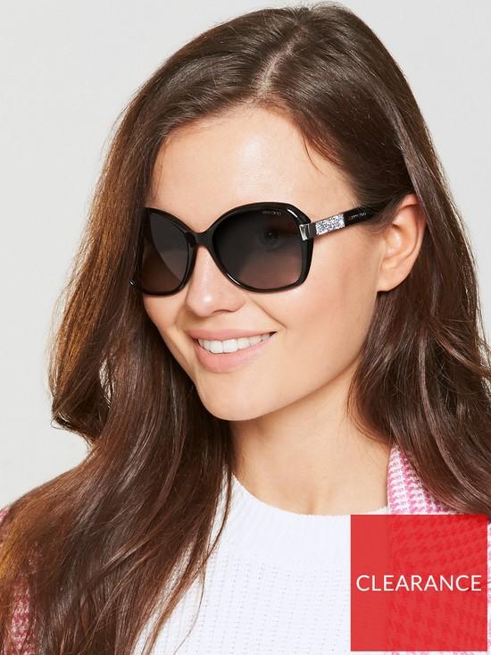 Jimmy Choo Alana Sunglasses - Black   very.co.uk 44d9a1f69a