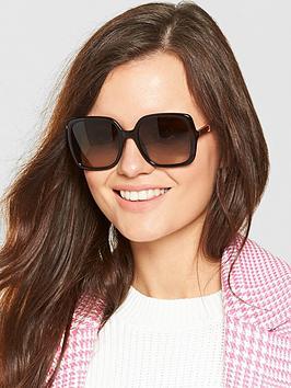Jimmy Choo Chari Sunglasses - Brown