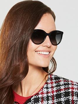 Jimmy Choo Erie Sunglasses - Black