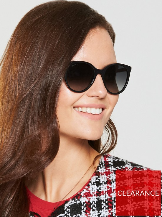 d6e56aafeaa4 Jimmy Choo Erie Sunglasses - Black