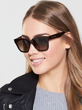 Marc Jacobs Rectangle Sunglasses - Brown