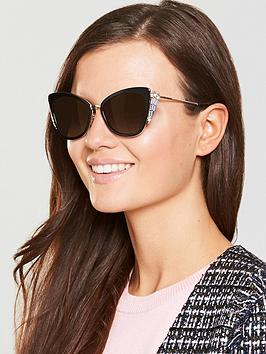 Marc Jacobs Cateye Sunglasses - Black/Pink