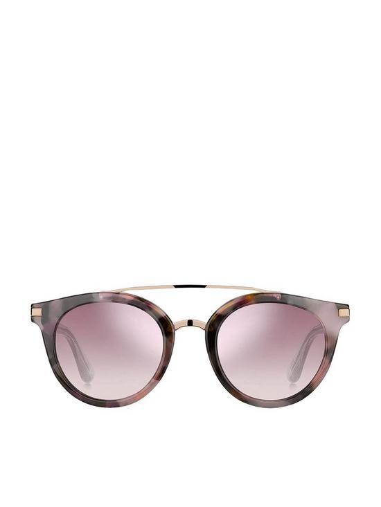 83bea42e6 ... Tommy Hilfiger Brow Bar Sunglasses - Pink/Havana. View larger