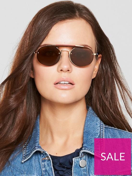 e7855cca0f2d TOMMY X GIGI Gigi Hadid Brow Bar Sunglasses   very.co.uk