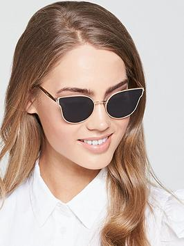 Max Mara Ilde Sunglasses - Black/Gold