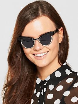 Max Mara Ingrid Sunglasses - Black