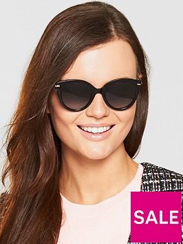 max-mara-needle-sunglasses-blackgold
