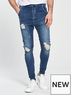 sik-silk-distressed-drop-crotch-skinny-jean