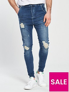 sik-silk-distressed-drop-crotch-skinny-jean