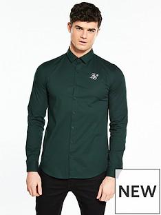 sik-silk-stretch-skinny-ls-shirt