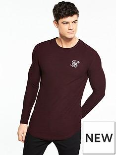 sik-silk-ls-waffle-knitted-tshirt