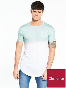sik-silk-curved-hem-fade-tshirt