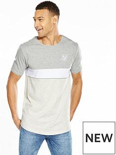 sik-silk-curved-hem-sports-tshirt