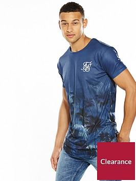 sik-silk-curved-hem-palm-tshirt