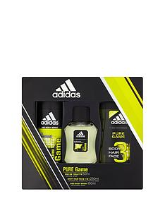 adidas-adidas-pure-game-trio-50ml-edt-150ml-body-spray-250ml-shower-gel-gift-set
