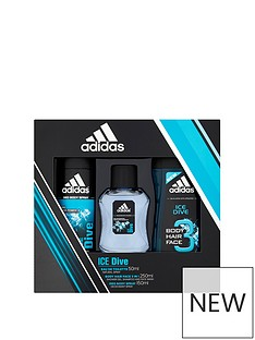 adidas-adidas-ice-dive-trio-50ml-edt-150ml-body-spray-250ml-shower-gel-gift-set