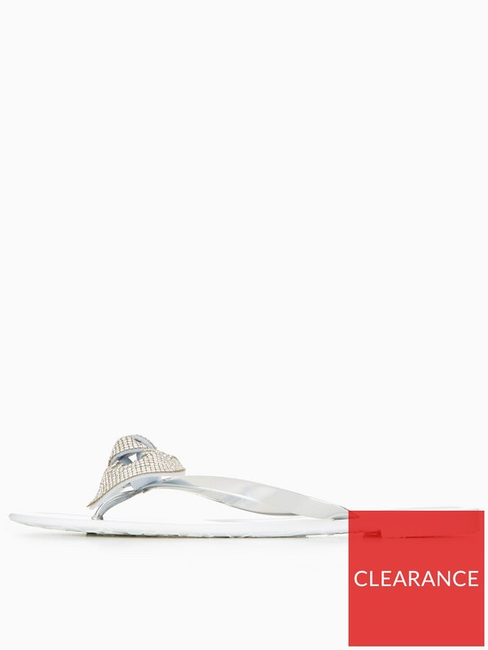 33f2cf022 ... Carvela Sweet Bling Bow Jelly Shoe - White. View larger