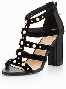 wallis-wallis-sargent-pearl-studded-gladiator-sandal-black