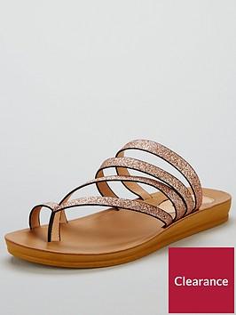 wallis-wallis-swirl-glitter-multi-strap-toe-loop