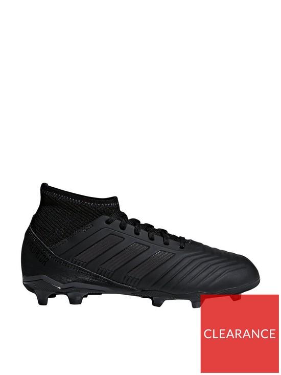 fdd6547e2b88 adidas Adidas Junior PREDATOR 18.3 Firm Ground Football Boots | very ...