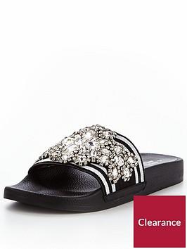 carvela-kathnbspnp-embellished-slider-blacknbsp