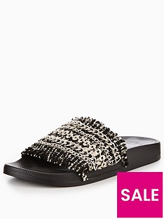 carvela-knit-slider