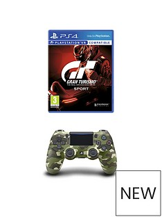 playstation-4-gran-turismo-sport-and-green-camouflage-dualshock-controller-ps4