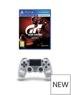 playstation-4-gran-turismo-sport-and-crystal-dualshock-controller