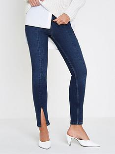 river-island-river-island-amelie-split-front-jeans--dark-auth