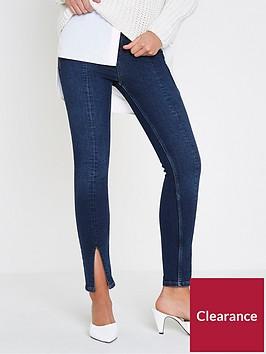 river-island-river-island-amelie-split-front-jeans--dark-auth