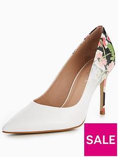 carvela-alison-floral-court-shoe-white